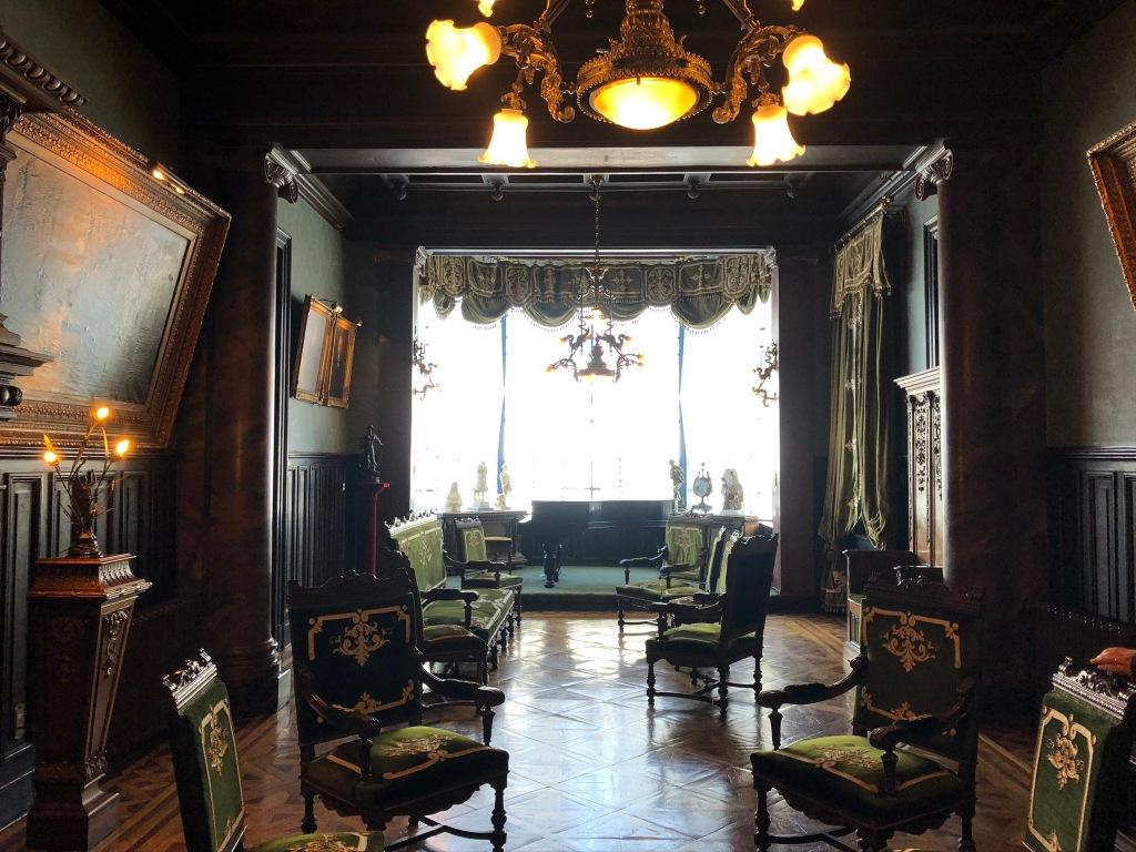 Intérieur du «petit» hôtel particulier Sara Braun * sur la Grd place - Photo VPapillard 28.01.20